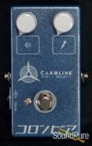 Caroline Guitar Company Olympia Fuzz Pedal- Silver/Blue Mist