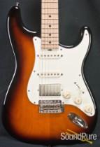 Tuttle Custom Classic S 2-Tone Burst HSS Alder Guitar 306