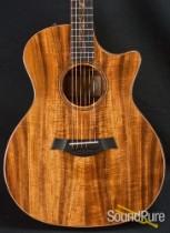 Taylor 2011 K24CE Koa Acoustic Guitar -Used