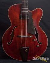 Eastman AR680CE John Pisano Spruce/Hog Archtop Guitar 5405