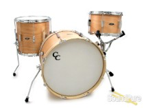 C&C Drums Player Date I Drum Set-Natural Mahogany Satin