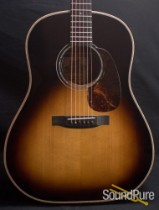 Froggy Bottom SJ Deluxe Sunburst Acoustic Guitar USED