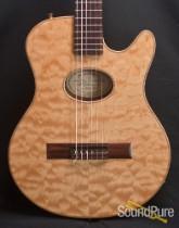 Buscarino Starlight Nylon Acoustic Electric Guitar 6215