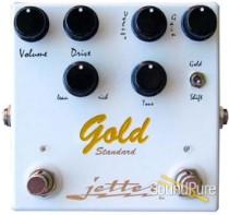 Jetter Gear Gold Standard Overdrive Pedal