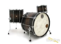Anchor Drums 3pc Corsair Maple Drum Set-Walnut Blackburst