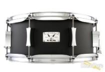 Pork Pie 6x14 Little Squealer Black Wrinkle Steel Snare Drum