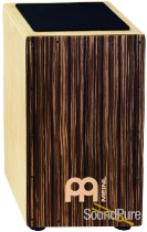 Meinl Percussion CAJ3SU-M Striped Umber String Cajon