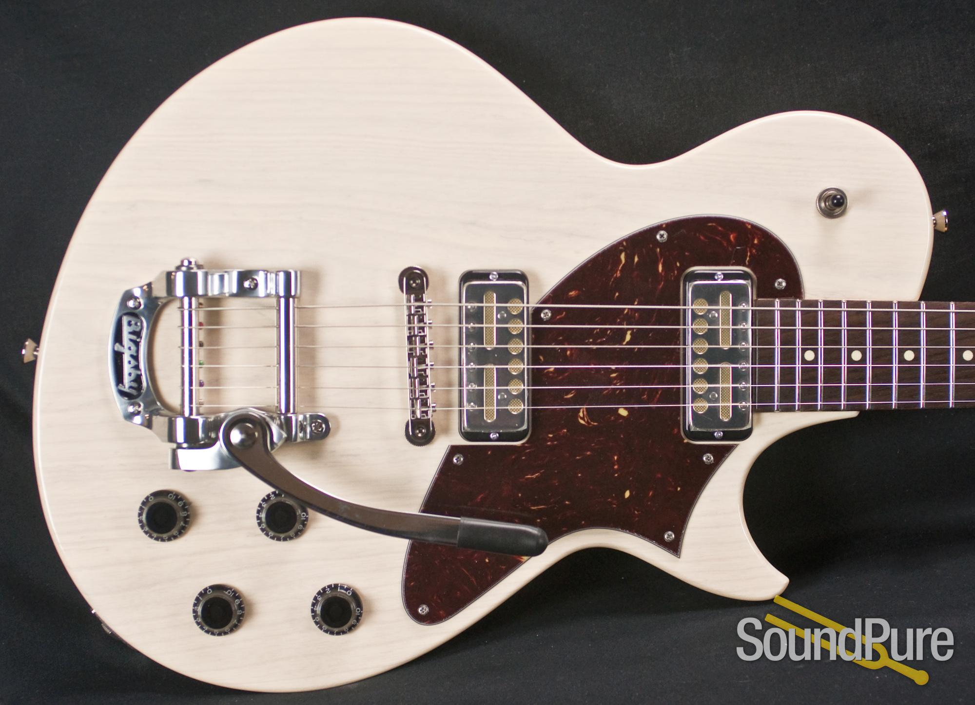 Collings 360 LT Warm White Electric Guitar With Bigsby