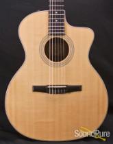 Taylor 214CEN Grand Auditorium Nylon Acoustic Guitar - Used