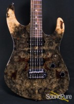 Suhr Modern Buck Eye Burl Maple Electric Guitar 28298