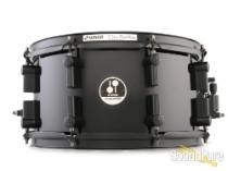 Sonor 7x13 Black Mamba Maple Snare Drum-Black