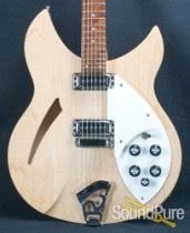 Rickenbacker 330 Mapleglo Semi Hollow Electric Guitar - Used
