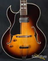 Eastman AR371CEL-SB Archtop Sunburst Electric Guitar 5059