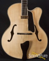 Eastman AR810CE-BD Blonde Archtop Guitar 5230