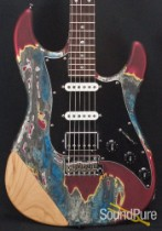 Tyler Burning Water Bare Shoulder Electric Guitar - Used