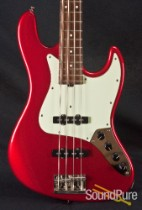 Sadowsky RV4 Candy Apple Red Electric Bass Guitar - Used