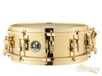 Sonor 14X5 Artist Series Brass Snare Drum-Die Cast Hoops