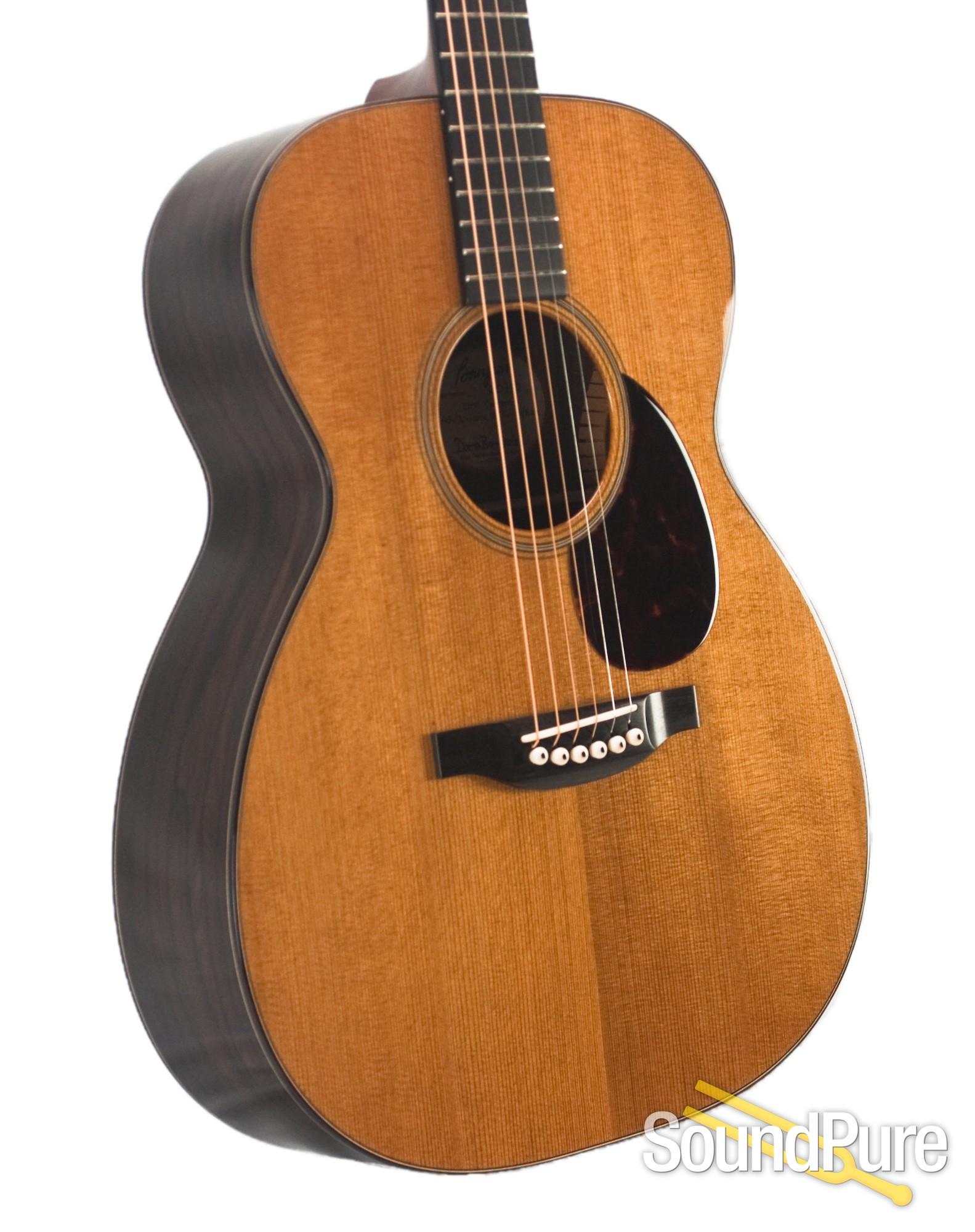 Bourgeois Aged Tone Adirondack Ziricote Om Acoustic Guitar