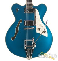 Duesenberg Fullerton Elite Catalina Blue Semi-Hollow #150919