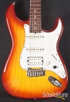 Tyler Classic Cherry Burst Electric Guitar Used #03206