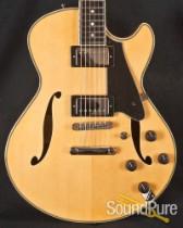 Comins GCS-1 ES Vintage Blond Semi-Hollow Electric Guitar