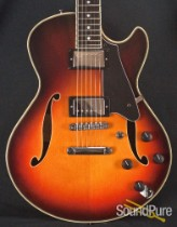 Comins GCS-1 ES Autum Burst Semi-Hollow Electric Guitar