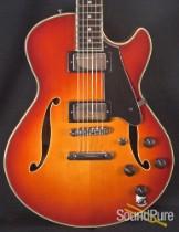 Comins GCS-1 ES Violin Burst  Semi-Hollow Electric Guitar