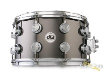 DW 8x14 Collectors Black Nickel over Brass Snare Drum