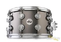 DW 8x14 Collectors Black Nickel over Brass Snare Drum