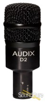 Audix D2 Dynamic Instrument Microphone