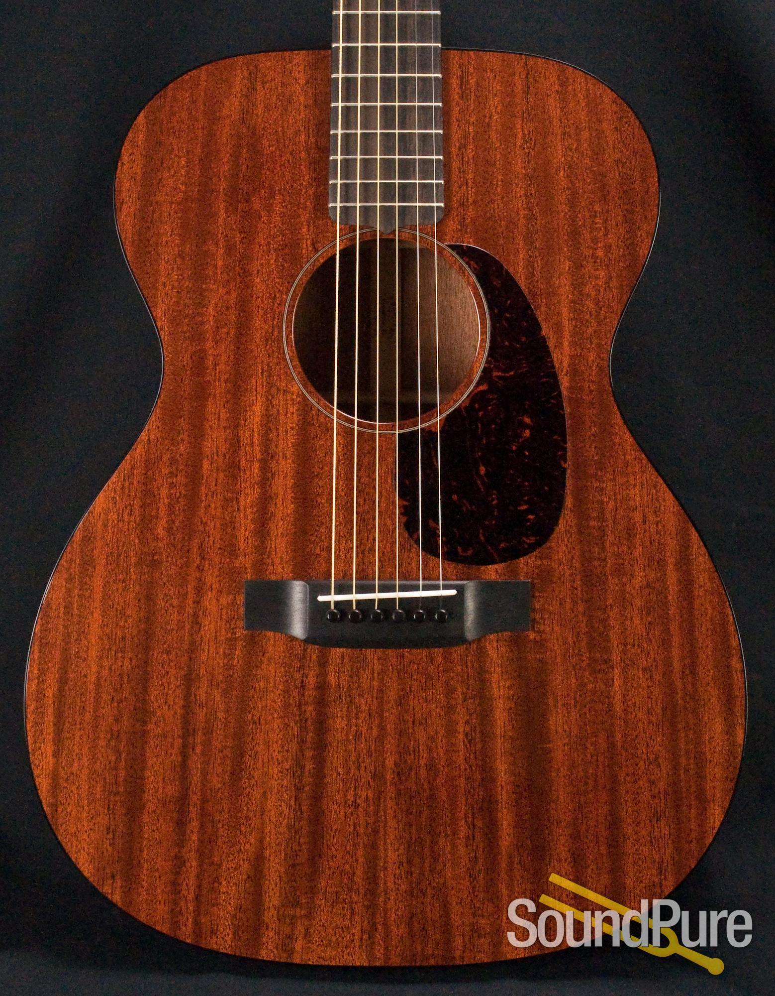 martin custom shop 000 mahogany acoustic guitar used ebay. Black Bedroom Furniture Sets. Home Design Ideas