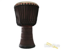 "Hand Carved 14"" Professional African Djembe Large"