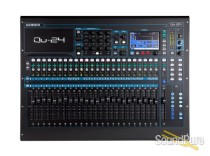 Allen & Heath Qu-24 QU Series 24-Ch Digital Mixer for Live, Studio, and Install