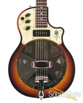 National Resoelectric Sunburst Resonator Guitar #20655