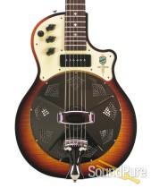 National Resoelectric Sunburst Resonator Guitar #20655