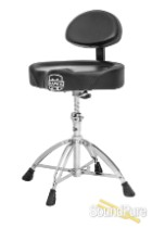 Mapex Saddle Top Drum Throne with Back Rest