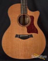 Taylor 714 CE-L1 Grafted Walnut/Cedar Acoustic Guitar - Used
