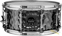 Mapex 6.5x14 Armory Daisy Cutter Hammered Steel Snare Drum