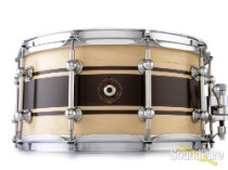 Anchor Drums 6.5x14 Galleon Maple Snare Drum-Classic Stripe
