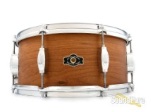 George Way 6.5x14 Tradition Cherry Snare Drum-Natural Oil