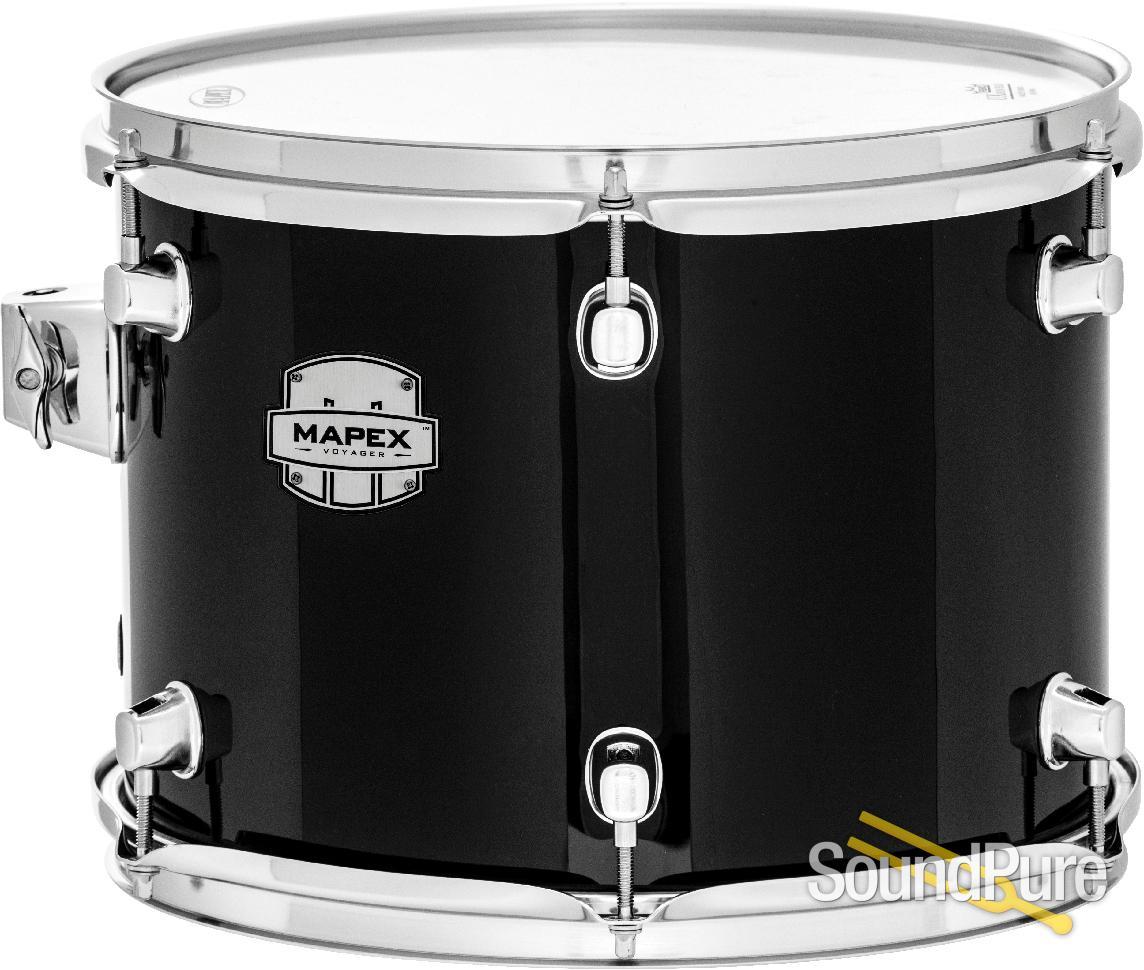 Mapex Voyager 5pc Jazz Drum Set Dark Black Soundpure Com