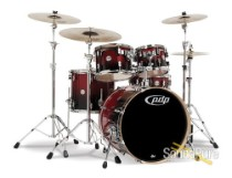 PDP 5pc Concept Birch Shell Pack Red To Black Fade