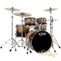 PDP 5pc Concept Birch Shell Pack Natural To Black Fade
