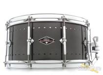 Craviotto 6.5x14 Solitaire Aluminum Snare Drum-Pewter