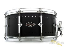 Craviotto 6.5x14 Solitaire Aluminum Snare Drum-Matte Black