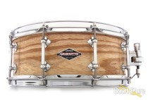 Craviotto 5.5x14 Ash Custom Snare Drum BB/BB