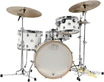 DW 4pc Design Series Frequent Flyer Drum Set Kit Gloss White
