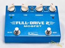 Fulltone Full Drive 2 Mosfet Overdrive/Boost - Used