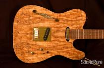 Zion Ninety Spalted Maple Swamp Ash 0706252 - SOLD!
