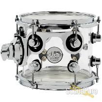 DW Design Series 7x8 Rack Tom Drum-Acrylic
